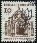 Stamps Germany -  Dresde