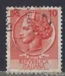 Sellos del Mundo : Europa : Italia : 1955  - Coin of Syracuse