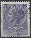 Sellos del Mundo : Europa : Italia : 1959 - Moneda de Siracusa