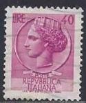 Sellos del Mundo : Europa : Italia : 1962 - Moneda de Siracusa