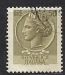 Sellos del Mundo : Europa : Italia : 1968 - Coin of Syracuse