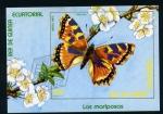 Stamps Africa - Equatorial Guinea -  mariposa vanesa