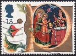 Sellos de Europa - Reino Unido -  La adoración de los Reyes Magos