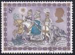 Stamps United Kingdom -  Los Reyes Magos