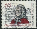 Stamps Germany -  Telemann