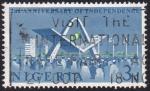 Stamps : Africa : Nigeria :  2º aniversario de la independencia