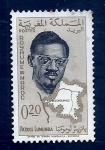 Sellos del Mundo : Africa : Marruecos : Patris Lumumba