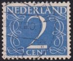 Sellos de Europa - Holanda -  2 Cent