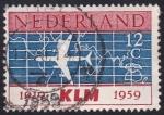 Stamps : Europe : Netherlands :  KLM