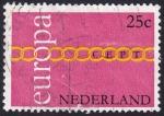 Sellos de Europa - Holanda -  Europa 1971