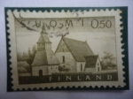 Stamps Finland -  Lammi - Iglesia de Lammi