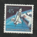 Stamps United States -  119 - Nave espacial