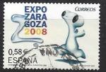 Sellos de Europa - España -  4344_Expo Zaragoza 2008