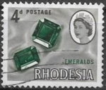 Sellos de Africa - Zimbabwe -  Minerales. Rhodesia