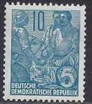Sellos del Mundo : Europa : Alemania : 1955 - Treballadors per pla de cinc anys