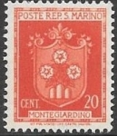 Stamps : Europe : San_Marino :  escudo