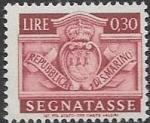 Sellos de Europa - San Marino -  escudo