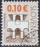 Sellos del Mundo : Europa : Eslovaquia : 2009 -  Iglesia de San Juan Bautistaa Sedmerovec - Pominovce