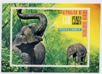 Stamps Africa - Equatorial Guinea -  elefante asiatico