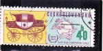 Stamps : Europe : Czechoslovakia :  CENTENARIO UPU