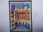 Sellos de Europa - España -  Ed: 2592 - Conferencia sobre la seguridad y la cooperación en Europa - Madrid 1980.