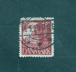 Stamps Denmark -  Barco de vela