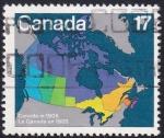 Sellos de America - Canadá -  Canada en 1905