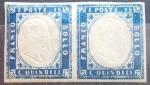 Stamps Italy -  ITALIA-Reino-1863-Víctor Emmanuel ll