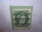 Sellos de America - Canadá -  Queen Elizabeth II - Serie 1954