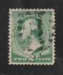 sello : America : Estados_Unidos : 64 - George Washington, busto de Houdon