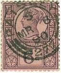 Stamps United Kingdom -  Efigie de la reina Victoria