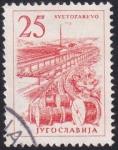 Sellos de Europa - Yugoslavia -  factoría de cables Svetozarevo
