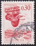 Sellos de Europa - Yugoslavia -  factoría de turbinas Listostroj