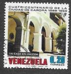 Sellos del Mundo : America : Venezuela :  947 - 400º Aniversario de la Ciudad de Carora
