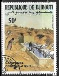 Sellos del Mundo : Africa : Djibouti : Campaña contra la Sed