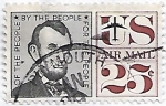 Stamps United States -  Presidente Abraham Lincoln