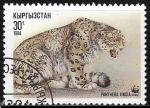 Sellos del Mundo : Asia : Kirguistán : Animales - Panthera uncia