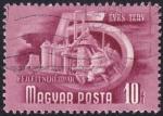 Sellos de Europa - Hungría -  industria pesada