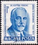 Stamps Hungary -  Dr. Hutyra Ferenc