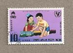 Stamps North Korea -  Día internacional del niño