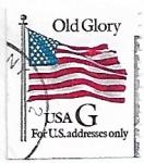 Sellos de America - Estados Unidos -  Vieja Gloria