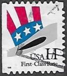 Sellos de America - Estados Unidos -  Sombrero del Tío Sam