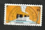 Sellos del Mundo : Europa : Alemania :  Estación del Metro de MarienPlatz en Munich