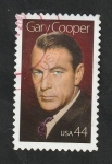 Stamps : America : United_States :  4212 - Gary Cooper, actor
