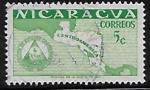 Sellos del Mundo : America : Nicaragua : Organización de Estados Centroamericanos