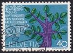 Stamps Switzerland -  congreso suizos en el extranjero