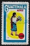 Sellos de America - Guatemala -  Traje típico de Cobán