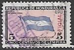 Sellos del Mundo : America : Honduras : Conmemorativo de la Revolución del 21 de octubre de 1956
