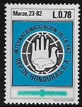 Sellos del Mundo : America : Honduras : Internacionalización de la Paz