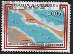 Sellos del Mundo : America : Honduras : Homenaje al Instituto Panamericano de Geografía e Historia
